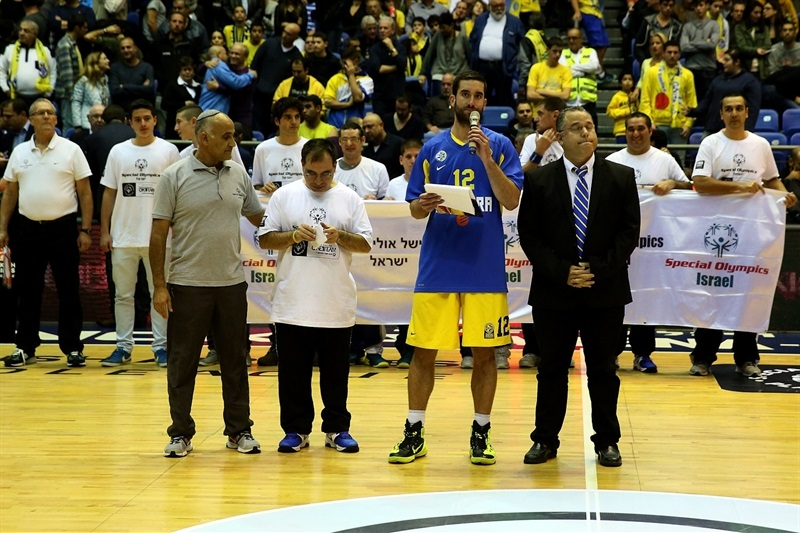 Yogev Ohayon in suport Special Olympics in Tel Aviv - Maccabi Electra - EB14