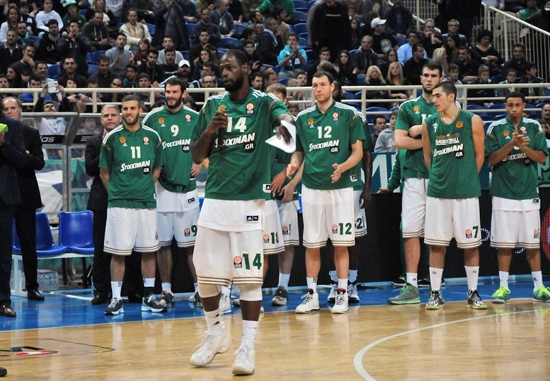 James Gist in suport Special Olympics - One Team - Panathinaikos Athens - EB14