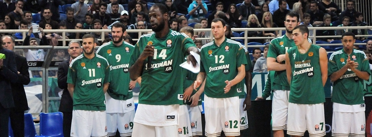 Top 16 team focus: PANATHINAIKOS ATHENS
