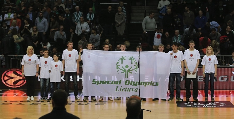 Special Olympics in Kaunas - One Team - EB14