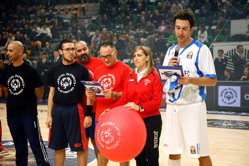 Giacomo Devecchi in Support Special Olympics in Sassari - One Team - EB14