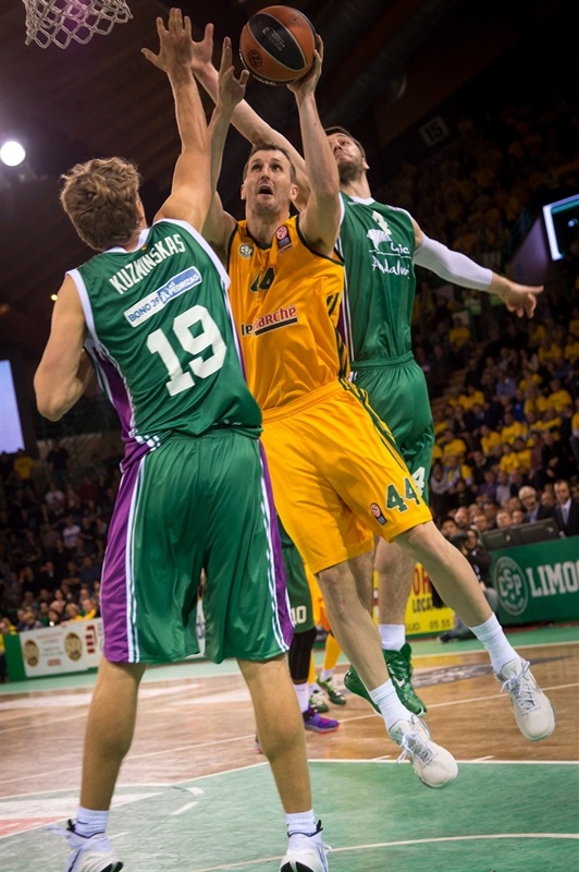 Trent Plaisted - Limoges CSP - EB14