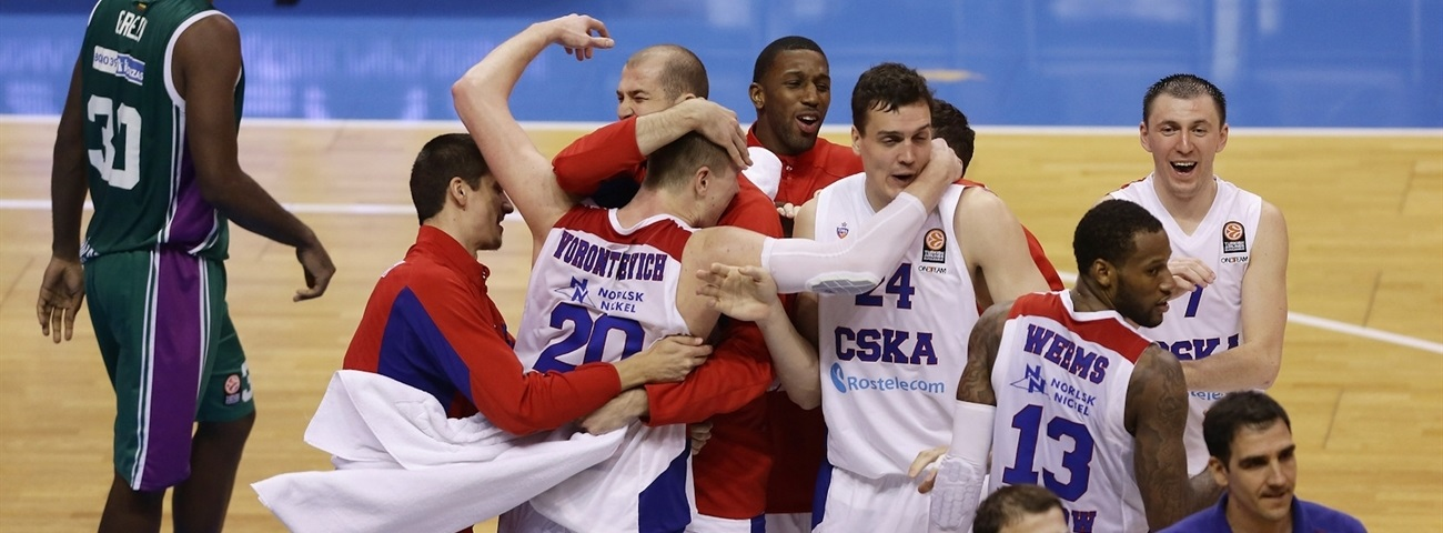 Top 16 team focus: CSKA MOSCOW