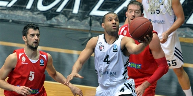 Chris Lofton, Besiktas Integral Forex Istanbul