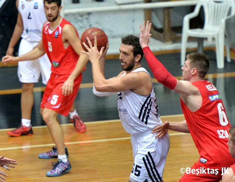 Dogan Senli - Besiktas Integral Forex - EC14 (photo Besiktas JK)