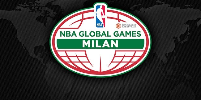 Milan to host Boston Celtics as part of NBA Global Games Europe 2015