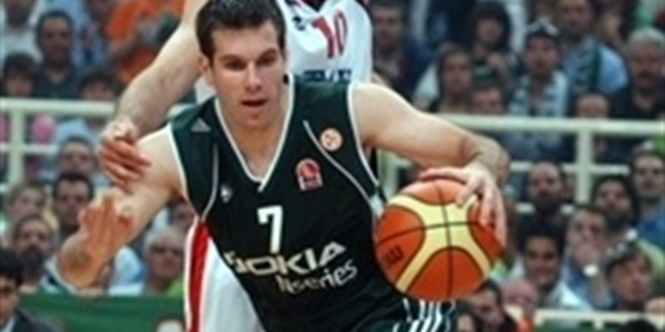 Sani Becirovic - Panathinaikos - semifinal - Final Four Athens 2007