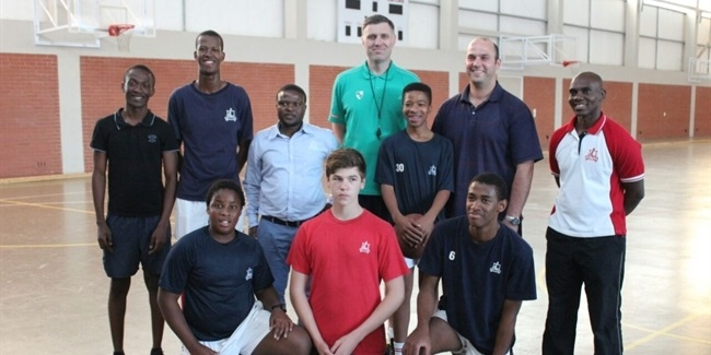 Zalgiris helps develop basketball in South Africa