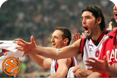 Rakocevic and Scola - Tau Ceramica - semifinal - Final Four Athens 2007