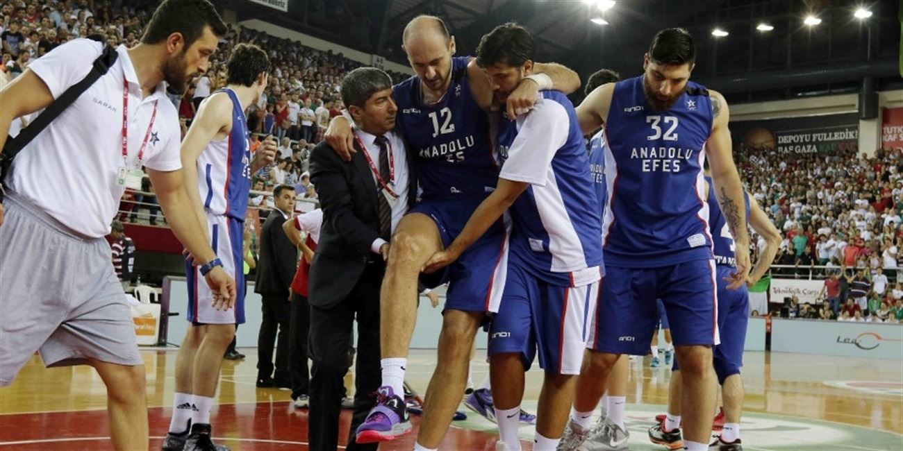 Efes's Krstic suffers torn ACL