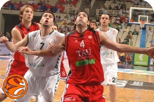 Vasiliadis and Scola - 3rd place - Final Four Athens 2007