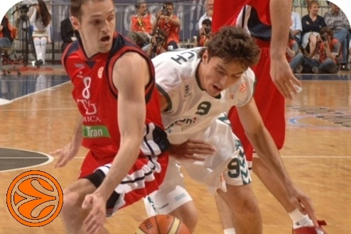 Rakocevic and Welch - 3rd place - Final Four Athens 2007