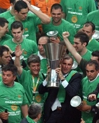 Zeljko Obradovic Champ! -  Panathinaikos - Final Four Athens 2007