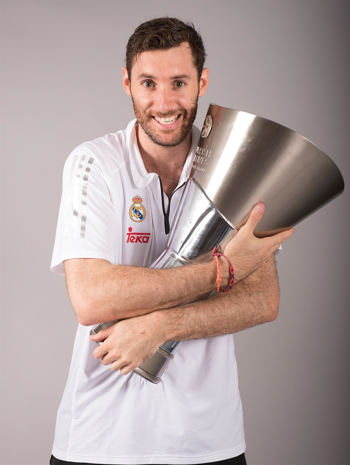 Rudy Fernandez - Trophy champ photo shoot - Final Four Madrid 2015 - EB14