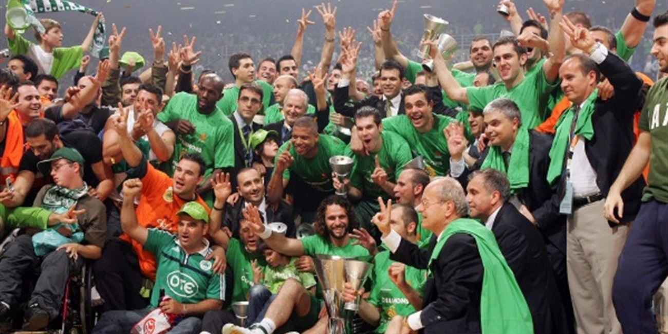 Panathinaikos is Euroleague champ!
