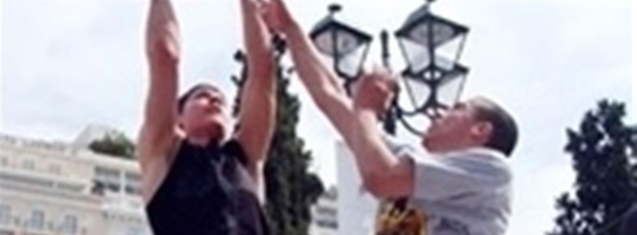 Syntagma Square Devoted to Basketball