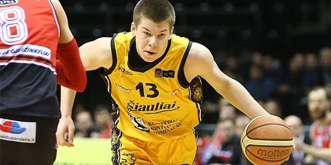 Lietuvos Rytas adds Lithuanian League top scorer Giedraitis, center Jucikas