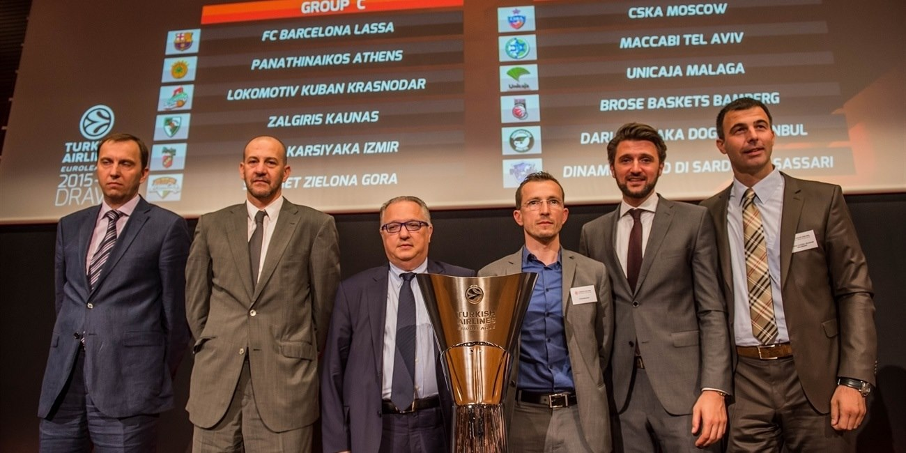 2015-16 Euroleague Draw: Group A at a glance