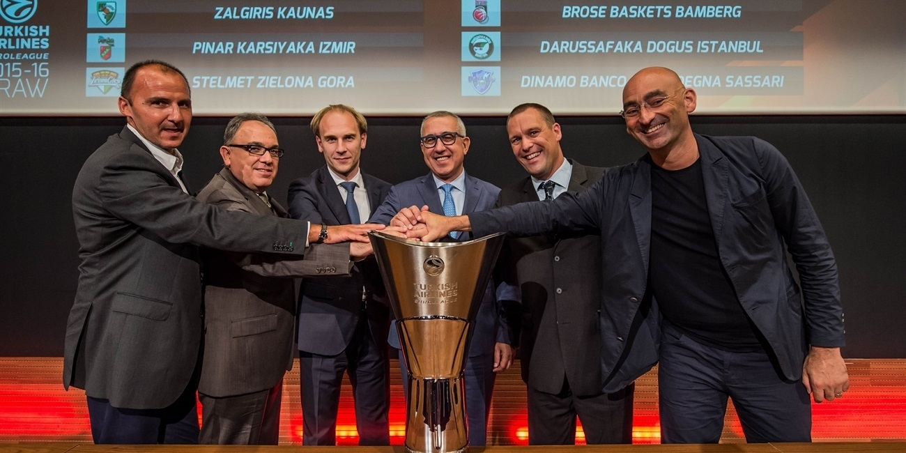 2015-16 Euroleague Draw: Group B at a glance