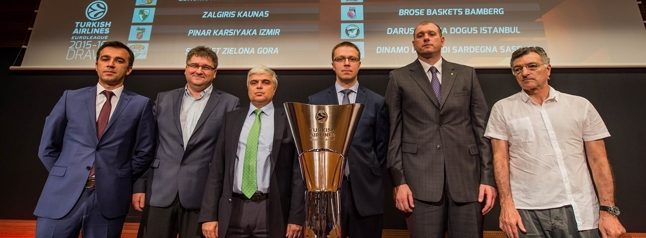 2015-16 Euroleague Draw: Group C at a glance