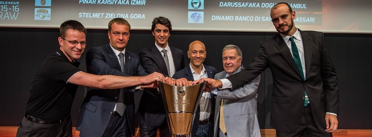 2015-16 Euroleague Draw: Group D at a glance