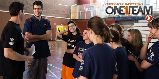 The best of FC Barcelona Lassa's One Team activities during the 2014-15 season