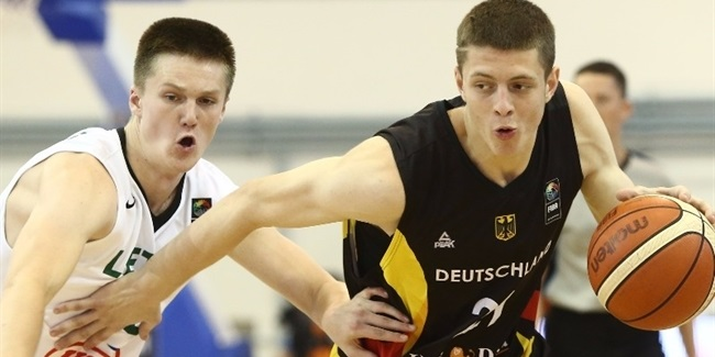 Zalgiris invests in top German talent Hartenstein