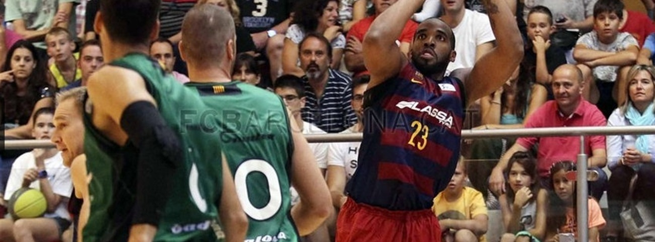 Barcelona center Samuels could miss start of season