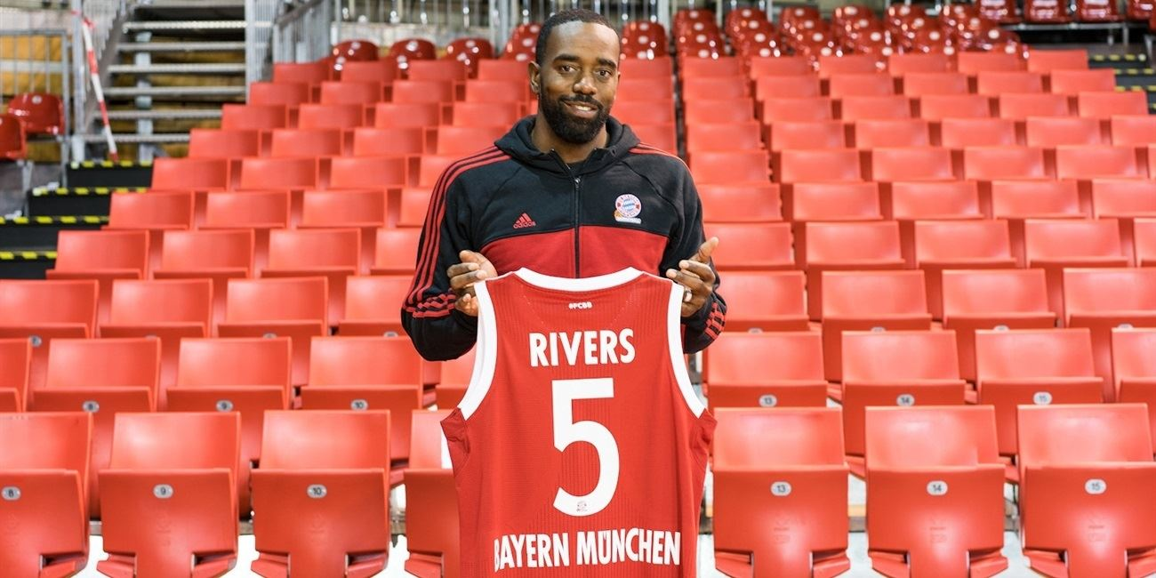 Bayern Munich lands Euroleague champ Rivers