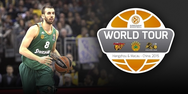 Panathinaikos gets ready to repeat great China experience