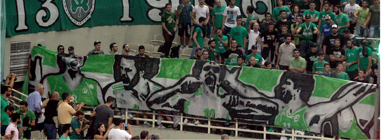 Panathinaikos honors all-time greats in Athens