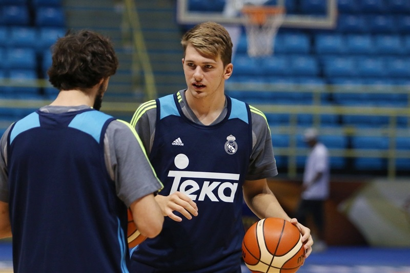 Luka Doncic - Real Madrid practices - Intercontinental Cup 2015 - EB15 (photo FIBA)
