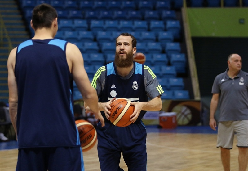 Sergio Rodriguez - Real Madrid practices - Intercontinental Cup 2015 - EB15 (photo FIBA)