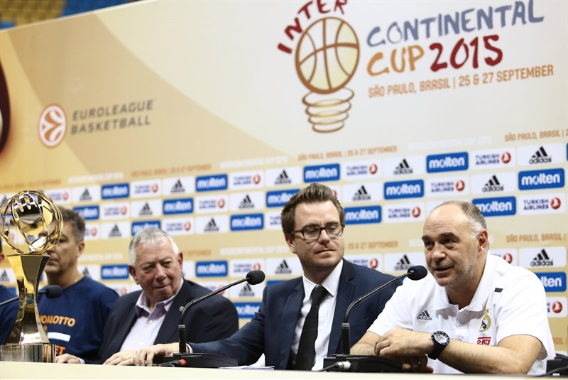 Pablo Laso - Real Madrid - Press Conference- Intercontinental Cup 2015 - EB15 (photo FIBA)