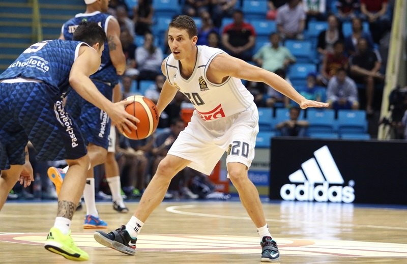 Jaycee Carroll - Real Madrid vs. Bauru - Intercontinental Cup 2015 - EB15  (photo José Jiménez Tirado - FIBA Americas)