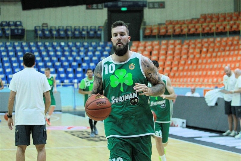 Miroslav Raduljica - Panathinaikos Athens in practices - World Tour 2015 - EB15