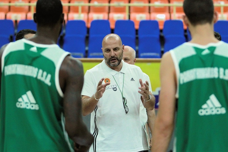 Sasha Obradovic - Panathinaikos Athens in practices - World Tour 2015 - EB15
