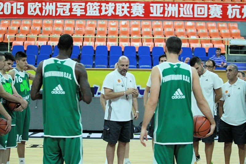 Panathinaikos Athens in practices - World Tour 2015 - EB15