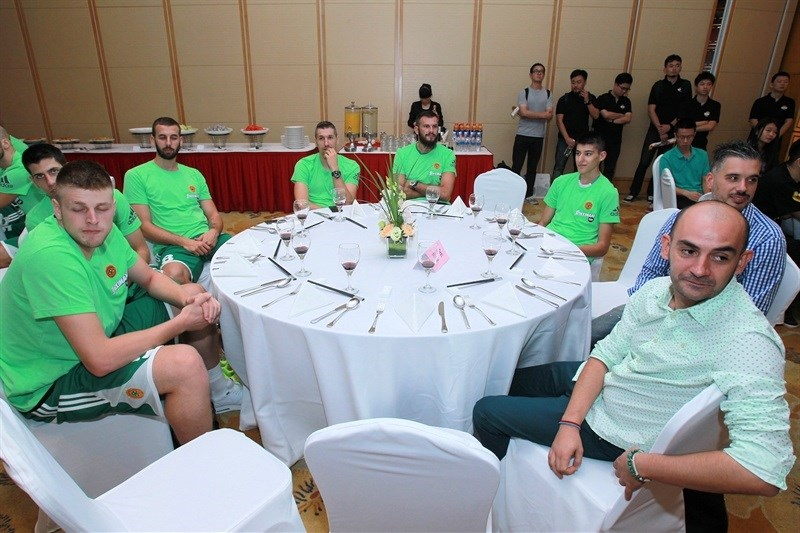 Welcome dinner - Panathinaikos Athens - World Tour 2015 - EB15