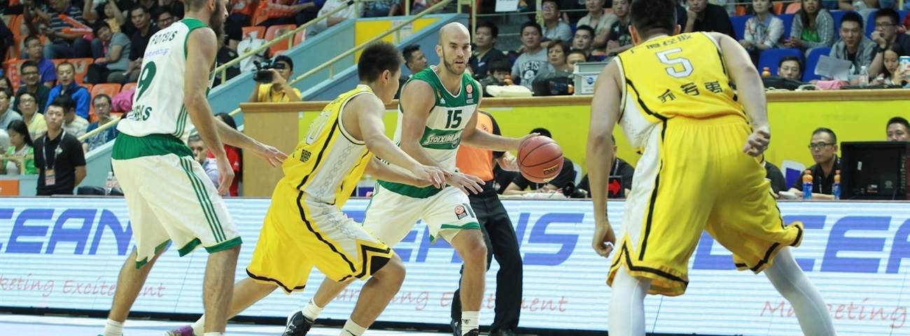 Panathinaikos Athens opens Euroleague Basketball Asia Tour with victory