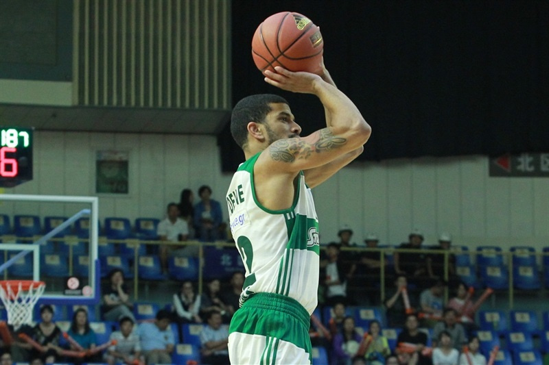 James Feldeine - Panathinaikos Athens vs. Zheijang Lions - World Tour 2015 - EB15