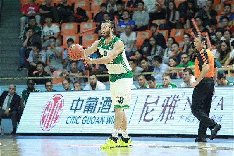 Vladimir Jankovic - Panathinaikos Athens vs. Zheijang Lions - World Tour 2015 - EB15