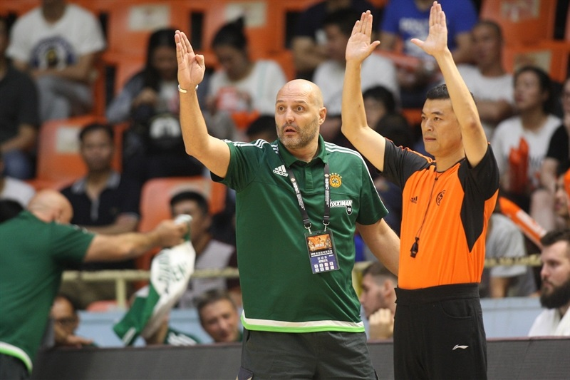 Sasha Djordjevic - Panathinaikos Athens vs. Zheijang Lions - World Tour 2015 - EB15