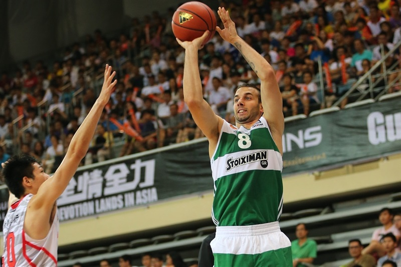 Vladimir Jankovic - Panathinaikos Athens vs. Guangdong Tigers - World Tour 2015 - EB15