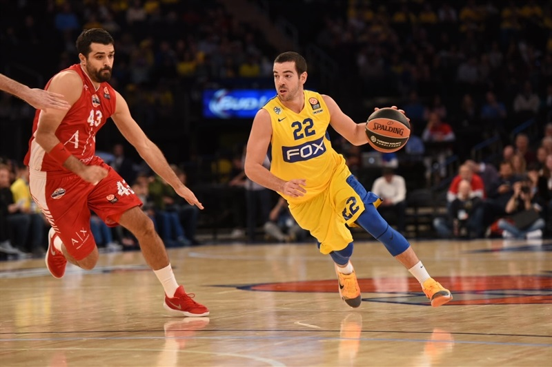 Taylor Rochestie - Maccabi FOX Tel Aviv, World Tour in New York (Photo Noam Galai)