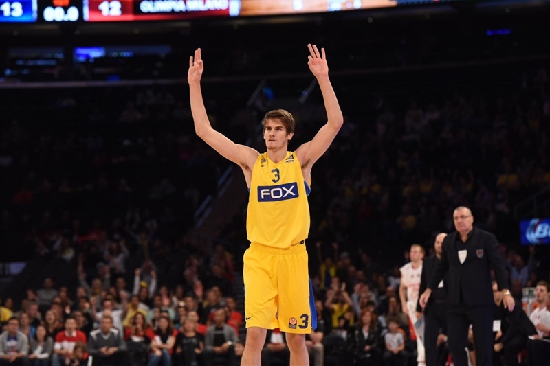 Dragan Bender - Maccabi FOX Tel Aviv, World Tour in New York (Photo Noam Galai)
