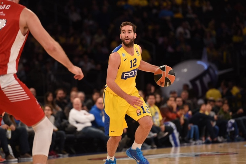 Yogev Ohayon - Maccabi FOX Tel Aviv, World Tour in New York (Photo Noam Galai)