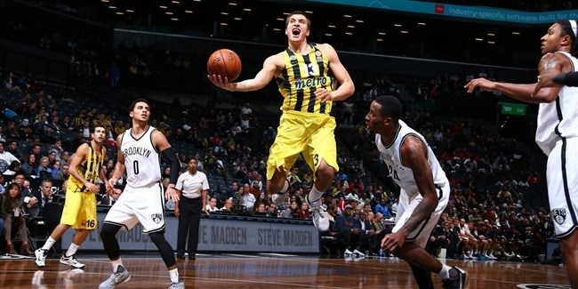 Fenerbahce opens US trip with win in Brooklyn