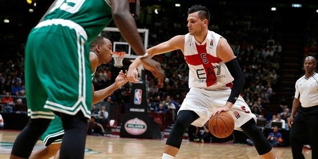 Boston Celtics cruise past EA7 Emporio Armani Milan