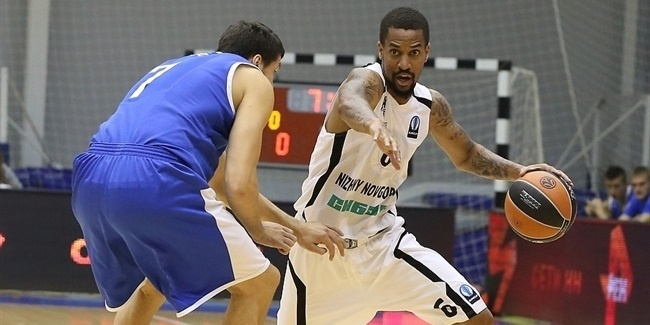 Nizhny's Eric Maynor out until March